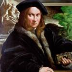 """Parmigianino - Portrait of a Collector"" by ArtLoversOnline"