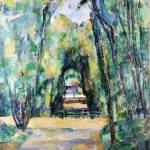 """Paul Cezanne - Avenue at Chantilly"" by ArtLoversOnline"