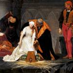 """Paul Delaroche - The Execution of Lady Jane Grey"" by ArtLoversOnline"