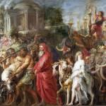 """Peter Paul Rubens - A Roman Triumph"" by ArtLoversOnline"