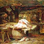 """""""Philippe Rousseau - The Fish Market"""" by ArtLoversOnline"""