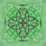 """Celtic Clover Mandala"" by foxvox"