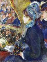 Pierre-Auguste Renoir - At the Theatre (La Premier
