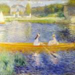 """""""Pierre-Auguste Renoir - The Skiff (La Yole)"""" by ArtLoversOnline"""