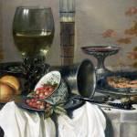 """""""Pieter Claesz"""" by ArtLoversOnline"""