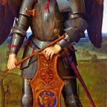 """Pietro Perugino - The Archangel Michael"" by ArtLoversOnline"