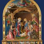 """Pietro Orioli - The Nativity with Saints Altarpiec"" by ArtLoversOnline"