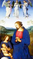 Pietro Perugino - The Virgin and Child with an Ang