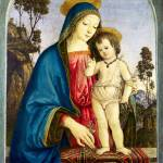 """Pintoricchio - The Virgin and Child"" by ArtLoversOnline"
