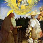 """""""Pisanello - The Virgin and Child with Saints"""" by ArtLoversOnline"""