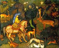 Pisanello - The Vision of Saint Eustace