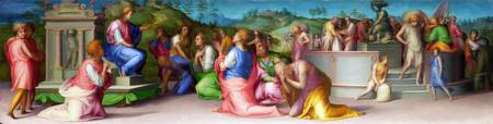 Pontormo - Joseph's Brothers beg for Help