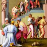"""Pontormo - Pharaoh with his Butler and Baker"" by ArtLoversOnline"