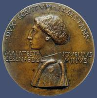 Portrait medal of Domenico Novello Malatesta - Pis