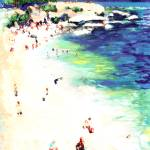 """Sunny Day at The Cove San Diego California"" by BeaconArtWorksCorporation"