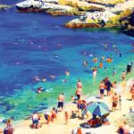 """Swimming at La Jolla Cove"" by RDRiccoboni"