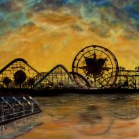 Paradise Pier Art Prints & Posters by Seth Larson