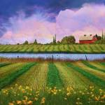 """idyllic farm fields and meadows"" by rchristophervest"