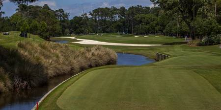 TPC Sawgrass Golf Course Hole 7 Photo 1 Wide