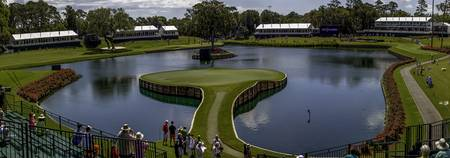 TPC Sawgrass Hole 17 Panorama Photo 6
