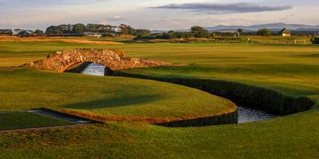 St. Andrews Links Golf Course Swilcan Bridge 2