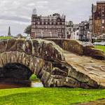 """St. Andrews Links Golf Course Swilcan Bridge 18th"" by Richimage"