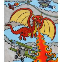 Red Dragon Art Prints & Posters by Matthew Porter