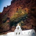 """St. Nikolaos Church, Santorini"" by bkindler"