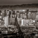 """""""San Francisco from Twin Peaks Blvd."""" by dawilson"""