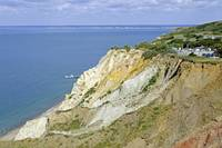 Alum Bay, Coloured Sand Cliffs (24984-RDA)