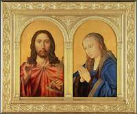Quinten Massys - Diptych - Christ and the Virgin