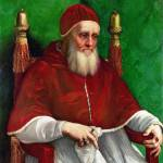 """Raphael - Portrait of Pope Julius II"" by ArtLoversOnline"