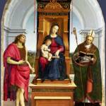 """Raphael - The Ansidei Madonna"" by ArtLoversOnline"