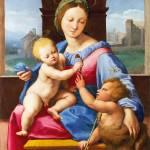 """Raphael - The Garvagh Madonna"" by ArtLoversOnline"