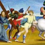 """Raphael - The Procession to Calvary"" by ArtLoversOnline"