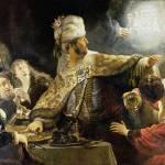 """Rembrandt - Belshazzar"