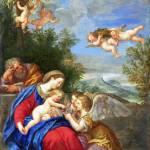"""Rest on the Flight into Egypt - Francesco Albani"" by ArtLoversOnline"