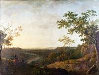 Richard Wilson - The Valley of the Dee, with Chest