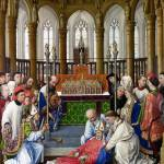 """Rogier van der Weyden and workshop - The Exhumatio"" by ArtLoversOnline"