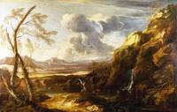 Salvator Rosa - Landscape with Tobias and the Ange