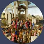 """Sandro Botticelli - The Adoration of the Kings"" by ArtLoversOnline"