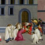 """Sandro Botticelli - Three Miracles of Saint Zenobi"" by ArtLoversOnline"