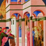 """""""Sassetta - Saint Francis renounces his Earthly Fat"""" by ArtLoversOnline"""