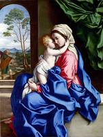 Sassoferrato - The Virgin and Child Embracing