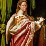 """Sebastiano del Piombo - Portrait of a Lady"" by ArtLoversOnline"