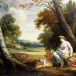 """""""Simon Vouet and studio - Ceres and Harvesting Cupi"""" by ArtLoversOnline"""