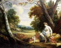 Simon Vouet and studio - Ceres and Harvesting Cupi