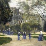 """Stanislas-Victor-Edmond Lepine - Nuns and Schoolgi"" by ArtLoversOnline"