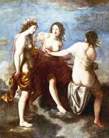 Studio of Francesco Furini - The Three Graces