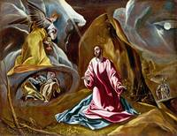 Studio of El Greco - The Agony in the Garden of Ge